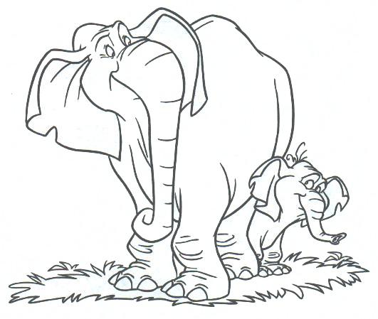 Turk And Tantor Coloring Pages Coloring Pages