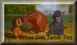 Never Before Seen Pictures from Tarzan
